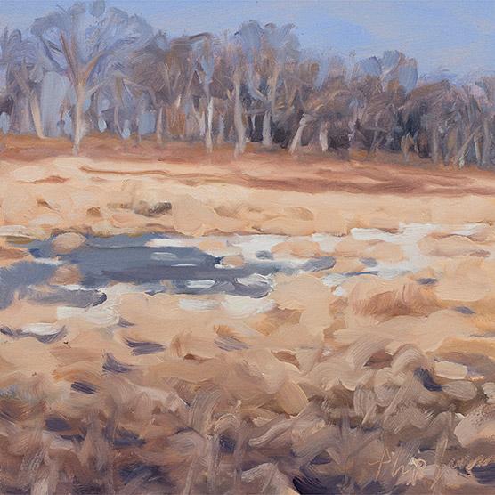 Painting of Flint Creek Savanna