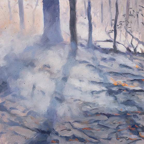 Painting of Tree Shadows