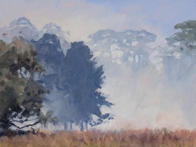 Painting of Skeet Field