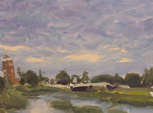 Painting of Canal Impression
