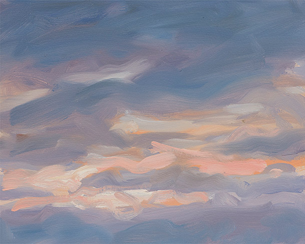 Painting of Sky Impression