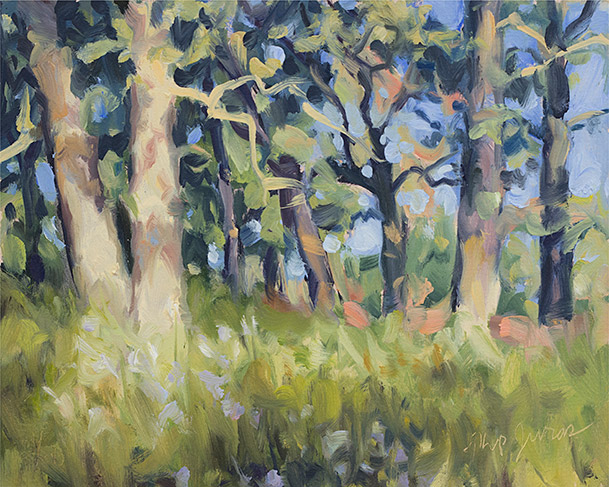 Painting of Oak Grove Impression