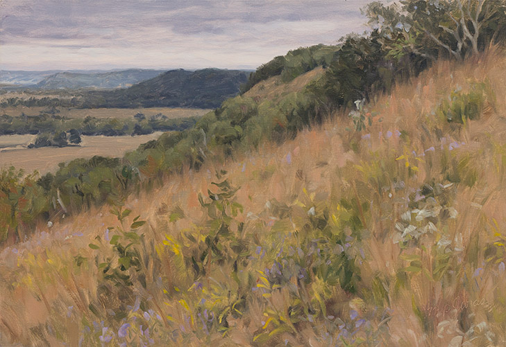 Painting of Goat Prairie