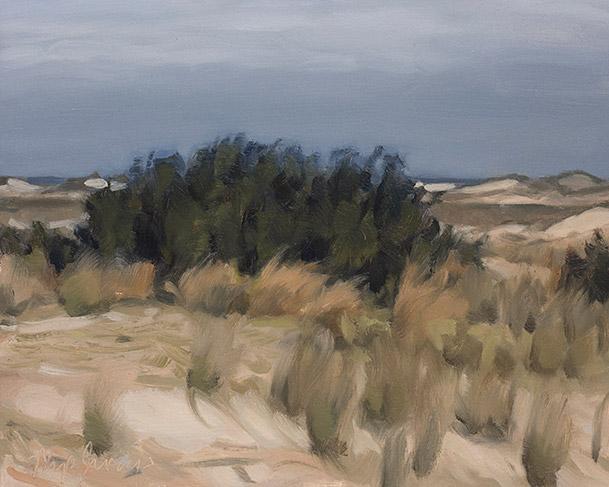 Painting of Myrica Sky