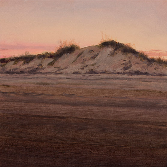 Painting of Canoe Dune