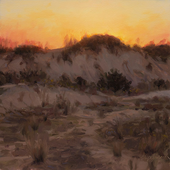 Painting of Hybrid Dune