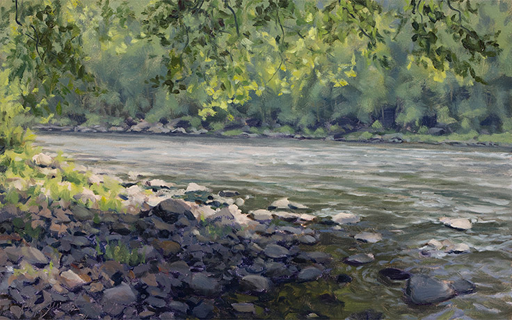 Painting of Deleware River