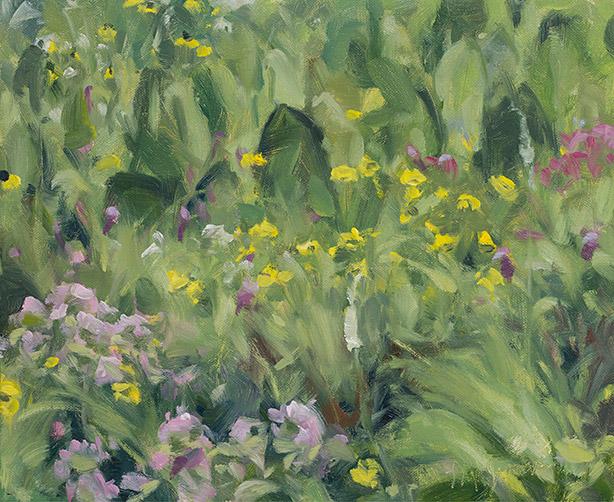 Painting of Gensburg-Markham Prairie