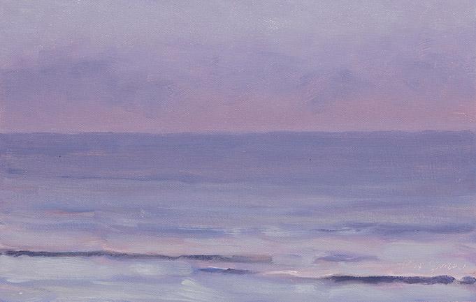 Painting of Ocean Color