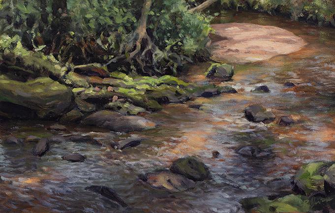 Painting of Cedar Creek