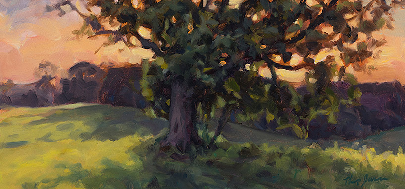 Painting of Ag Field Tree