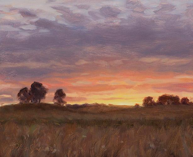 Painting of Sundown