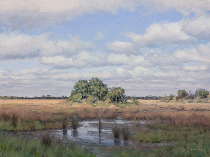 Painting of Marsh Hammock