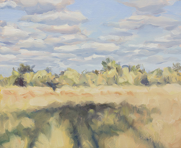 Painting of Afternoon Shadows
