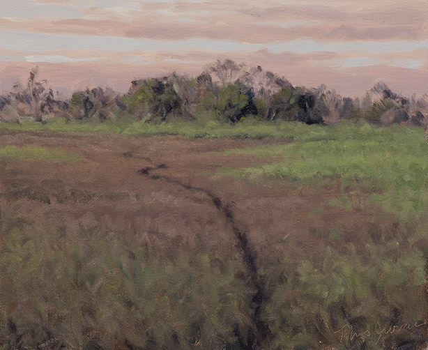 Painting of Marsh Trail