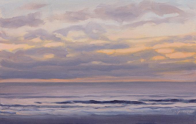 Painting of Before Sunrise