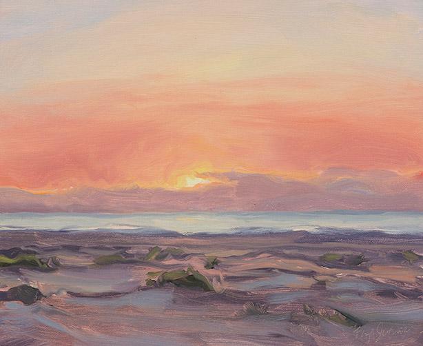 Painting of Sunrise Impression