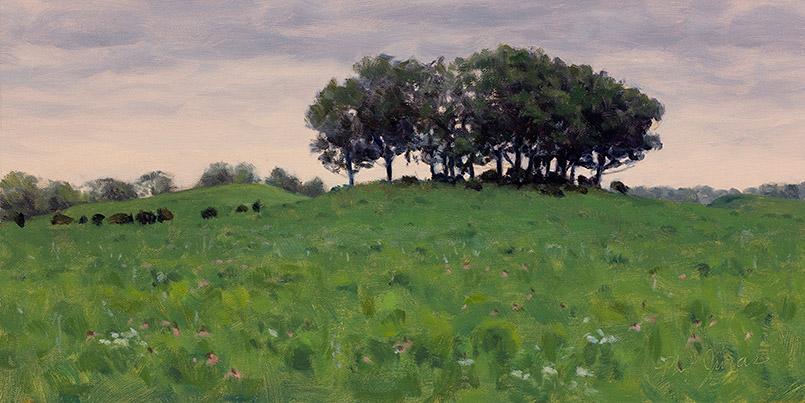 Painting of Oak Island