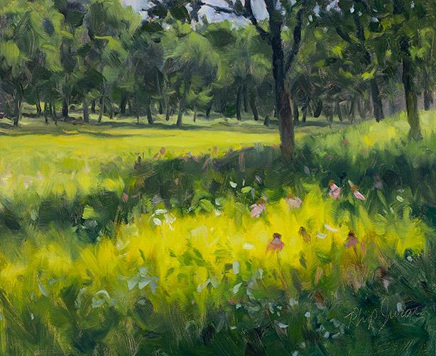 Painting of Sedge Meadow