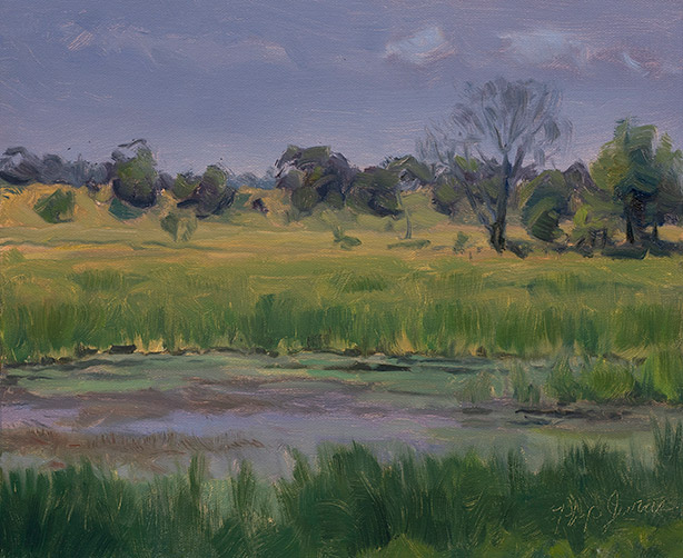 Painting of Lockport Prairie