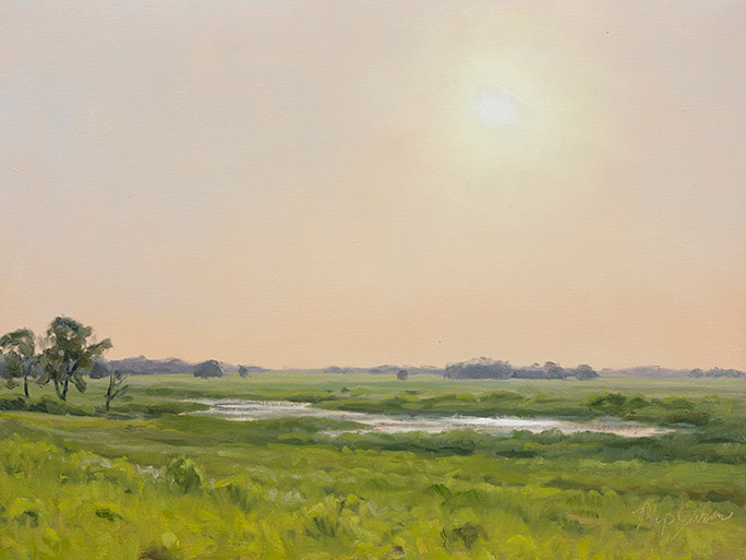 Painting of Springbrook Prairie