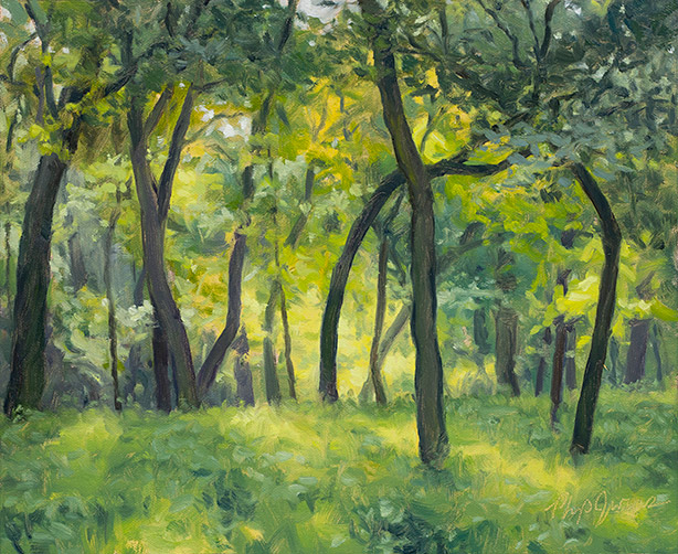 Painting of Grove Interior