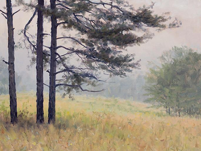 Painting of Prairie Shortleaf