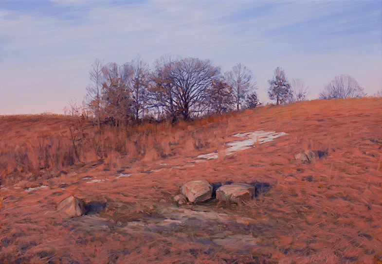 Painting of Doug's Knob