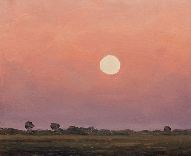 Painting of Moonrise