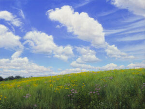 Painting of Galloping Hill Prairie