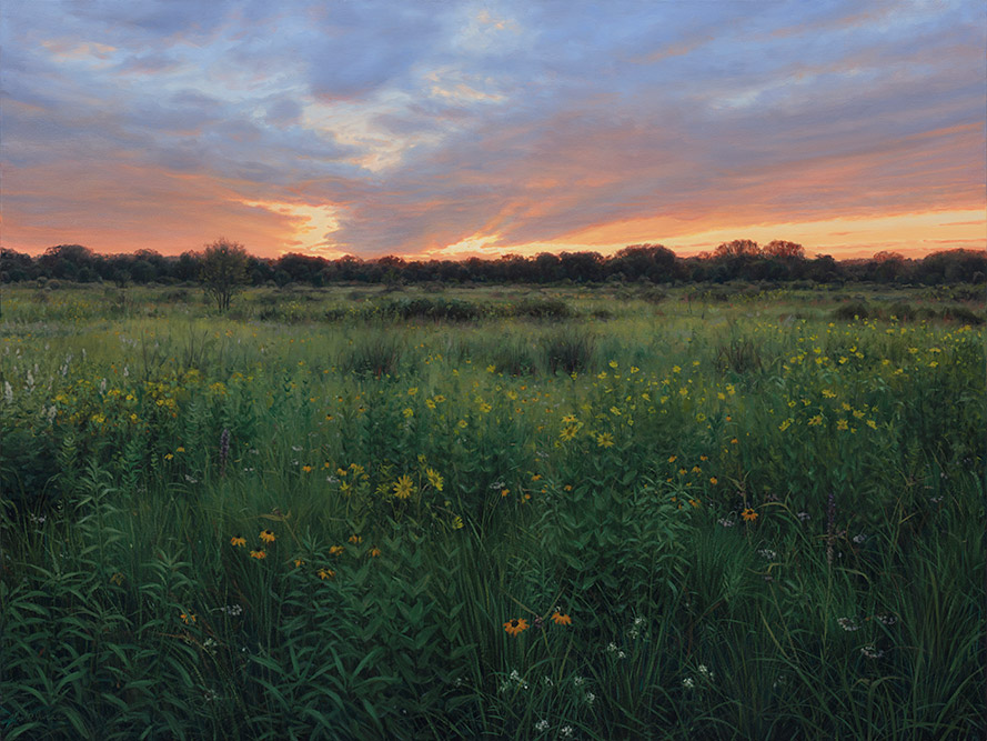 Painting of Chiwaukee Prairie