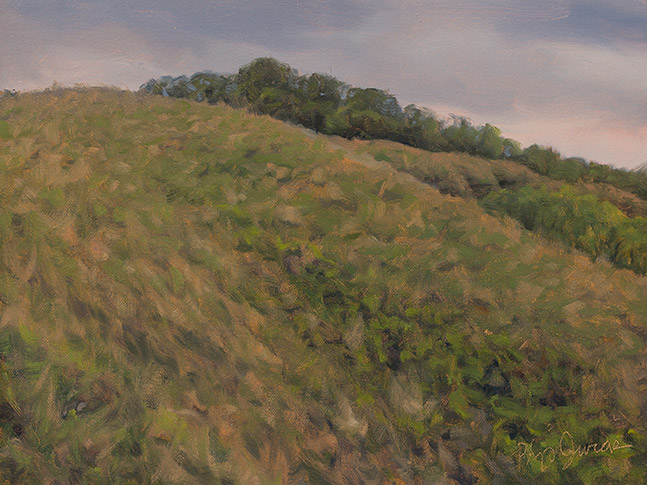 Painting of Tawny Slopes