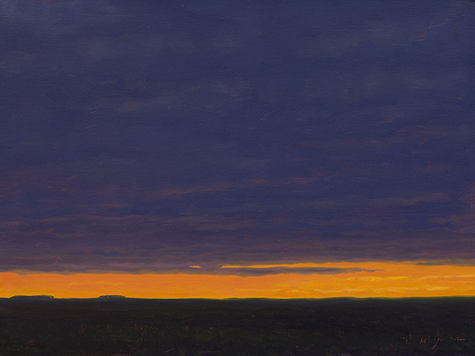 Painting of Predawn