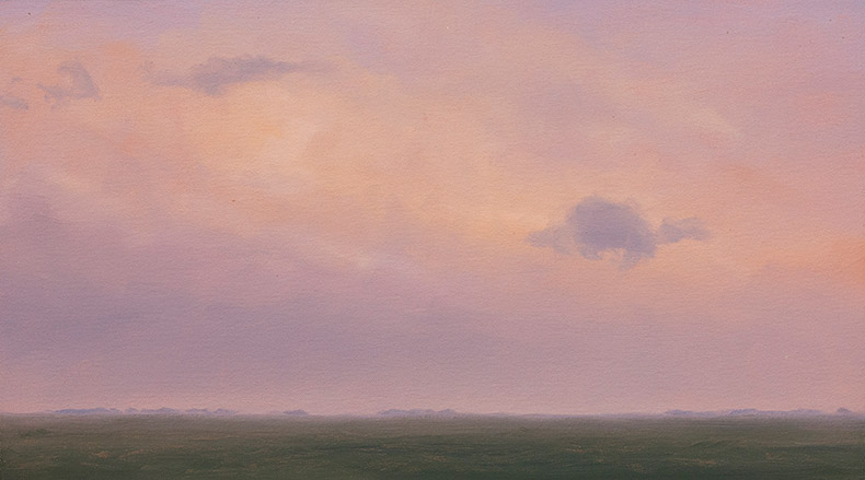 Painting of Morning Atmosphere (over Soybeans)