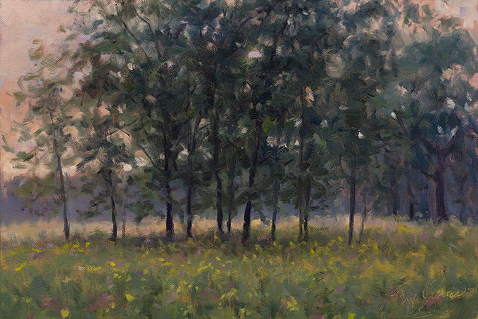 Painting of Somme Prairie Grove