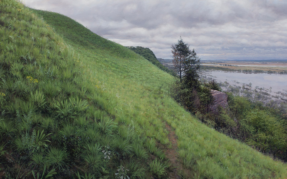 Painting of Fults Hill Prairie