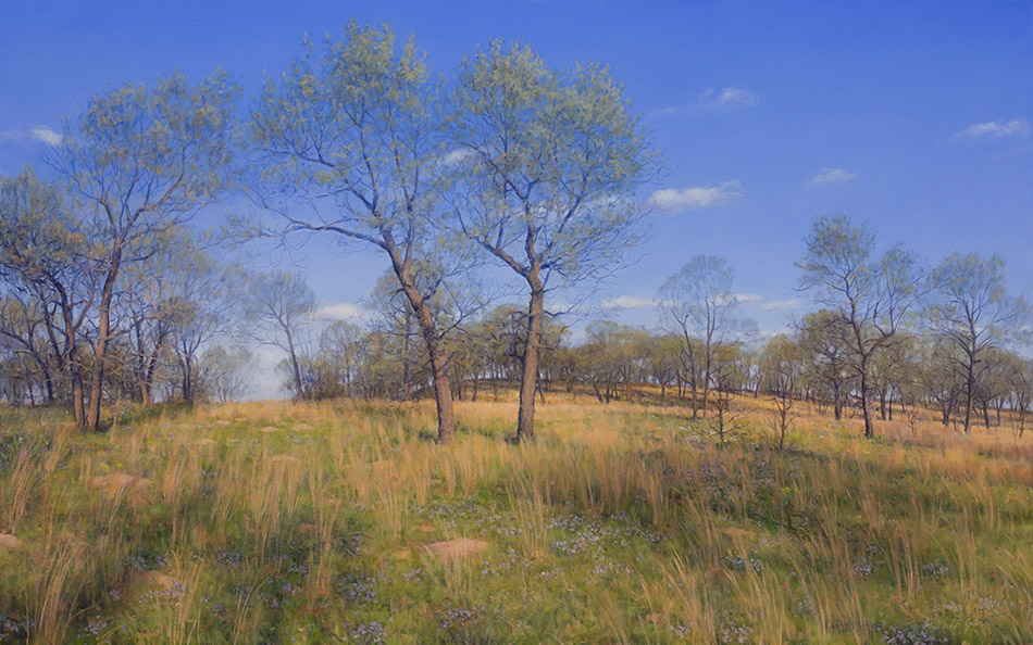 Painting of Pembroke Savanna