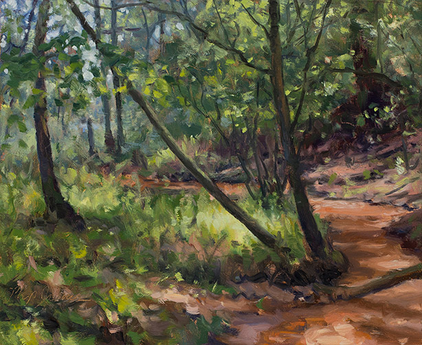 Painting of No Name Creek