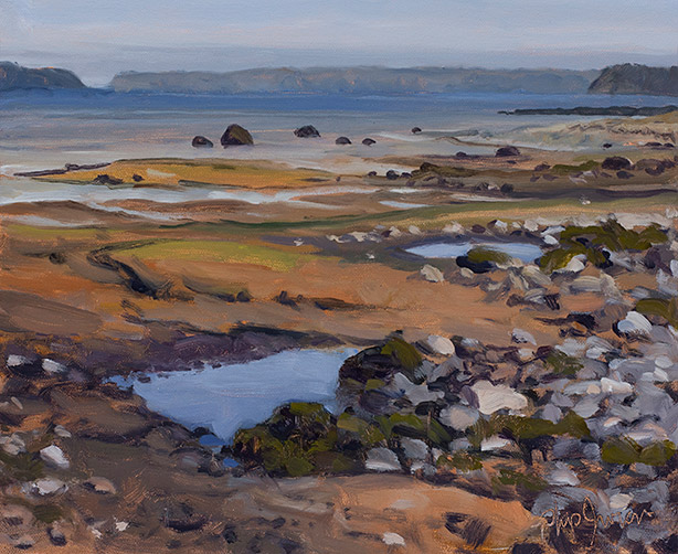 Painting of South Lubec Flats