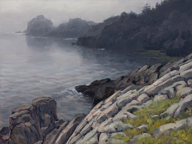 Painting of Western Head Preserve